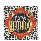 Firefighter Party Napkins - Large