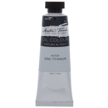 Zinc Titanium Master's Touch Oil Paint - 1.7 Ounce