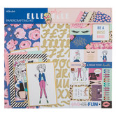 "Elle Oh Elle Scrapbook Kit - 12"" x 12"""