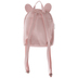 Pink Iridescent Bunny Quilted Backpack
