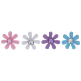 Pastel Flower Felt Stickers