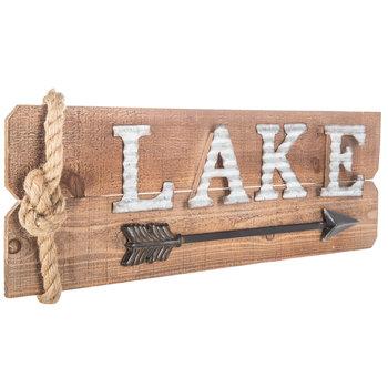 Lake Arrow Wood Wall Decor