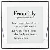 Fram-i-ly Definition Framed Decor