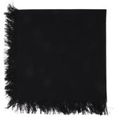Black Fringe Cloth Napkin
