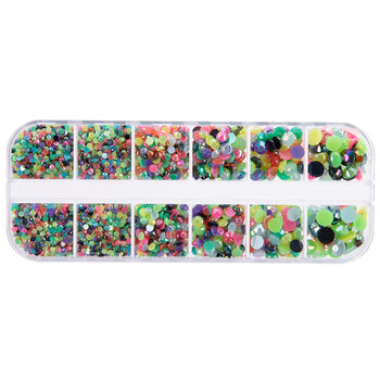 Party Faceted Rhinestones