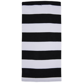 Black & White Striped Kitchen Towel