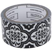 Black & White Deco Tile Art Project Tape