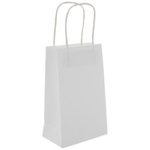 White Craft Gift Bags - Small