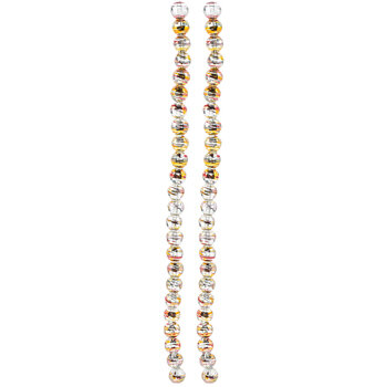 Crystal Confetti Glass Bead Strands