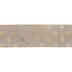 Natural & Gold Polka Dot Wired Edge Ribbon - 2 1/2