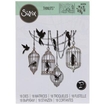 Sizzix Thinlits Birdcages Dies