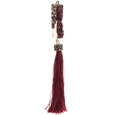 Druzy Pendant With Tassel