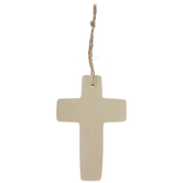 Blank Cross Ornaments