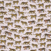 Tigers & Leopards Apparel Fabric