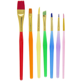 All Purpose Paint Brushes - 7 Piece Set