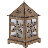 LED Snowflake Lantern Ornaments