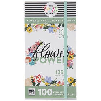 Flower Power Happy Planner Stickers
