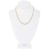 """Extra Fine Oval Chain Necklace - 18"""""""