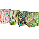 Succulent, Floral & Cacti Gift Bags