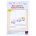 Flower Delivery Decorative Cross Stitch & Embroidery Hand Towels Kit