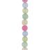 Pastel Round Dyed Jade Bead Strand - 6mm