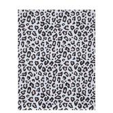 """Black & Pink Leopard Print Paper - 8 1/2"""" x 11"""""""