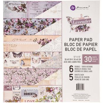 "Lavender Paper Pack - 12"" x 12"""
