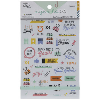 Goal Tracking Stickers