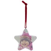 Star Photo Frame Ornament