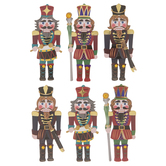Nutcrackers 3D Stickers
