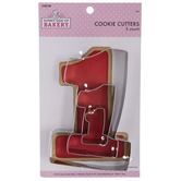 Number One Metal Cookie Cutters