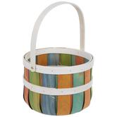 Chip Wood Easter Basket