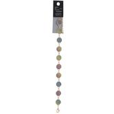 Octagon Ombre Glitter Bracelet