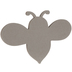 Bee Chipboard Shape