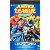 Justice League Stickerland Stickers