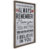 Before You Leave This Class Wood Wall Decor