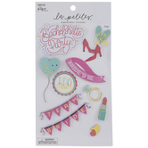 Bachelorette Party 3D Stickers