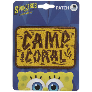 Camp Coral Iron-On Applique