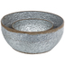 Dimpled Galvanized Metal Bowl Set