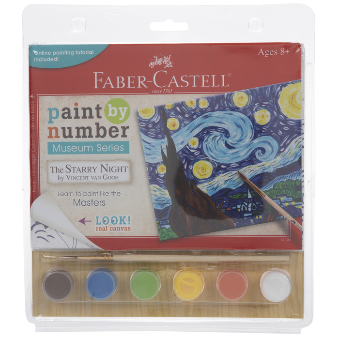 The Starry Night Paint By Number Kit Hobby Lobby 703314