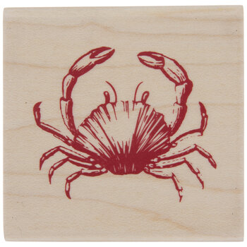 Crab Rubber Stamp