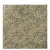 Metallic Gold Leopard Print Gift Wrap