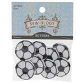 Soccer Ball Shank Buttons