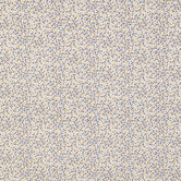 Brown Floral Cotton Calico Fabric