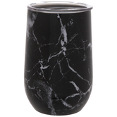 Black & White Marble Cup
