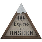 Explore The Unseen Wood Wall Decor