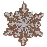 Snowflake Cookie Ornament