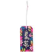 For You Floral Gift Tags