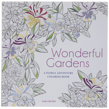Wonderful Gardens Coloring Book