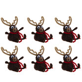 Reindeer Pom Pom Craft Kit